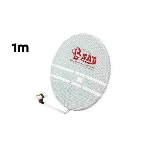 Assiette Parabole Satellite Perforée 100CM