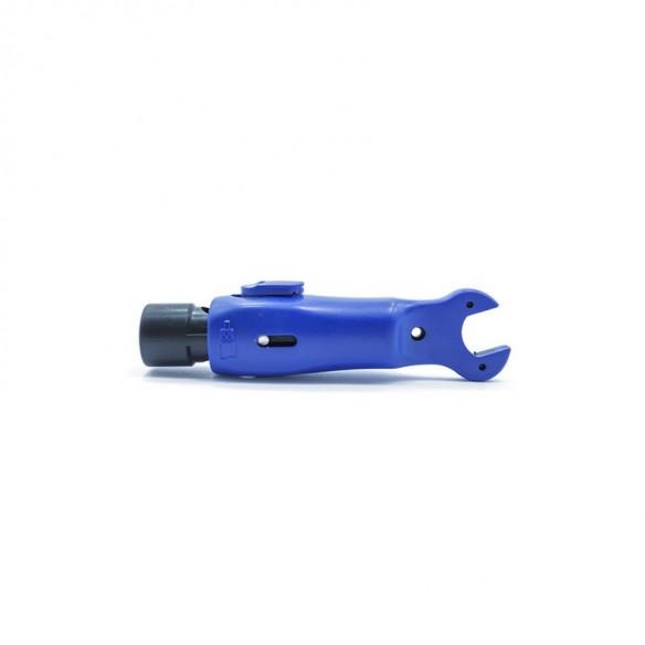 Denudeur Petit Modele Pour Cable Coaxial - Bleu